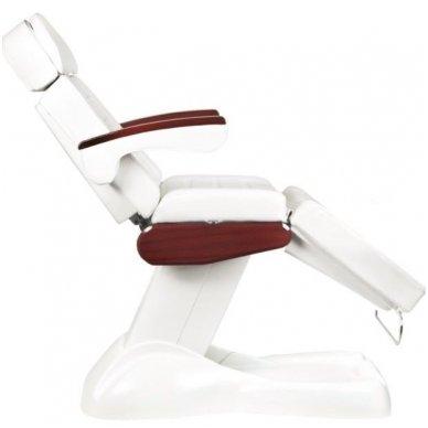 Elektrinis kosmetologinis krėslas LUX, baltos sp. 5