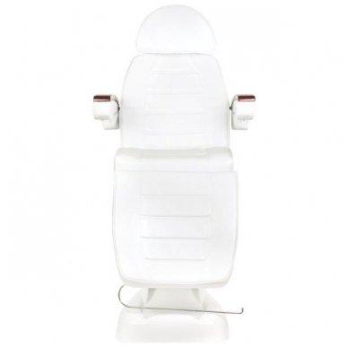 Elektrinis kosmetologinis krėslas LUX, baltos sp. 6
