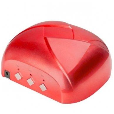 Lempa UV DUAL LED 36W TWISTER, raudonos sp. 2