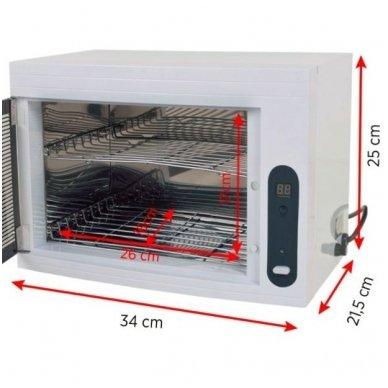 Rankšluosčių šildytuvas Sterilizatorius UV-C TIMER 2