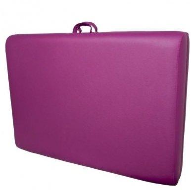 Sulankstomas masažo stalas KOMFORT WOOD AT 006S-3, violetinė sp. 2