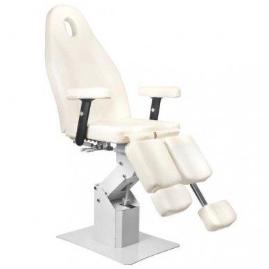 Elektrinis pedikiūro krėslas 2232A PEDI, baltos sp. 4
