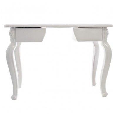 Manikiūro stalas STYL 2049, baltos sp. 2