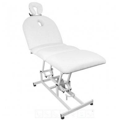 Elektrinis masažo stalas - lova AZZURRO 693A, 1 variklis, baltos sp. 3