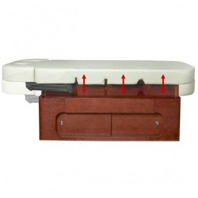 SPA lova - gultas AZZURRO WOOD 361A, 4 varikliai, šildoma 2