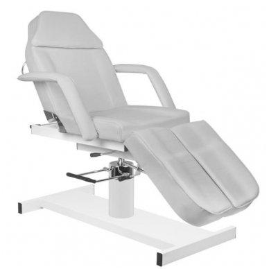 Hidraulinis pedikiūro ir kosmetologijos krėslas A 210C PEDI, pilkos sp.