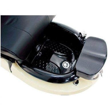 SPA pedikiūro krėslas TS-1204  ECRU/BLACK, su masažo funkcija 2