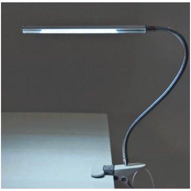 LED lempa  SLIM SNAKE, juodos sp. 2