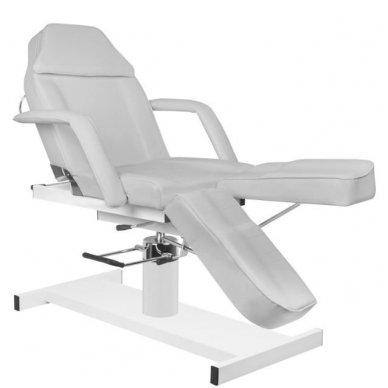 Hidraulinis pedikiūro ir kosmetologijos krėslas A 210C PEDI, pilkos sp. 5