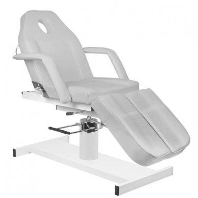 Hidraulinis pedikiūro ir kosmetologijos krėslas A 210C PEDI, pilkos sp. 6