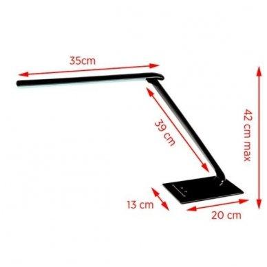 LED lempa ELEGANTE 7W BLACK 4