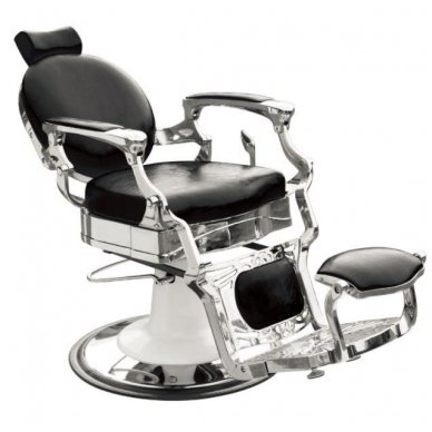 Barber krėslas PRESIDENT, juodos sp. 3