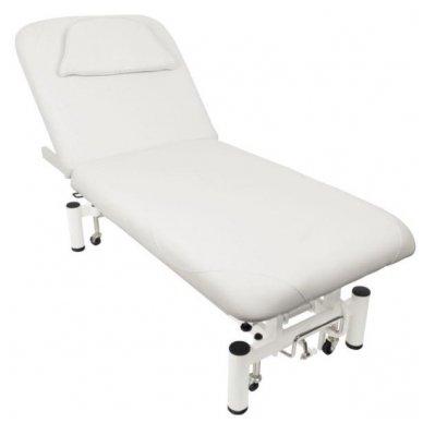 Elektrinis masažo stalas AZZURRO 684, baltos sp.