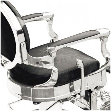 Barber krėslas PRESIDENT, juodos sp. 4