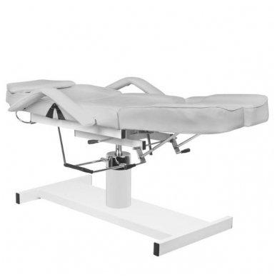 Hidraulinis pedikiūro ir kosmetologijos krėslas A 210C PEDI, pilkos sp. 4