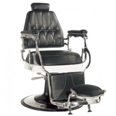 Barber kirpėjo krėslas LORD, juodos sp. 6