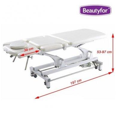 Daugiafunkcinis krėslas-lova įvairioms procedūroms, baltos sp. 2