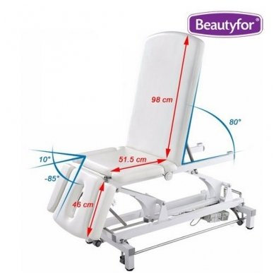Daugiafunkcinis krėslas-lova įvairioms procedūroms, baltos sp. 3