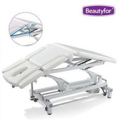 Daugiafunkcinis krėslas-lova įvairioms procedūroms, baltos sp. 4