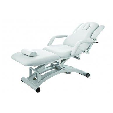 Daugiafunkcinis krėslas-lova 2241C, 3 varikliai, baltos sp.