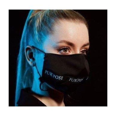 Daugkartinio naudojimo veido kaukė BLACK 2