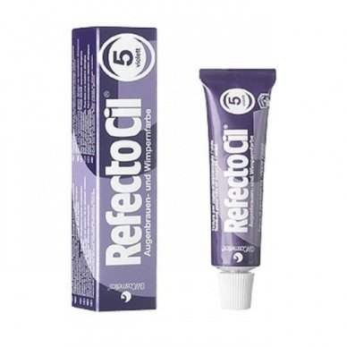Dažai antakiams ir blakstienoms tamsiai violetinė sp. RefectoCil