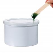 Depiliacinis vaškas skardinėje, blizgios - tamsiai žalios spalvos, 400ml