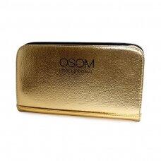 Dėklas žirklėms Osom Professional Gold Scissor, aukso sp, 4 žirklėms