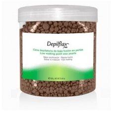 DEPILFLAX šokolado vaškas granulėse, 600g