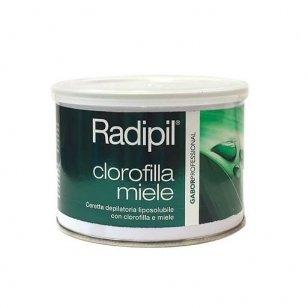 Depiliacinis vaškas skardinėje Radipil su chlorofilu ir medumi, 400 ml