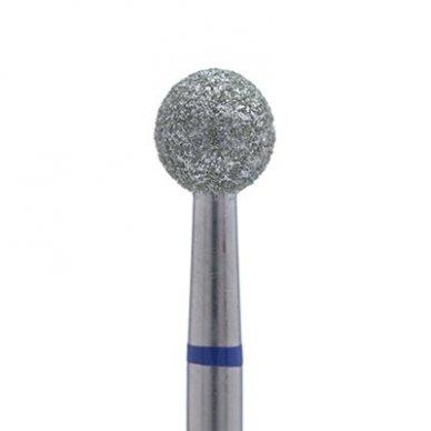 Deimantinis frezos antgalis, burbulo formos, vidutinio gritumo, 0,50mm