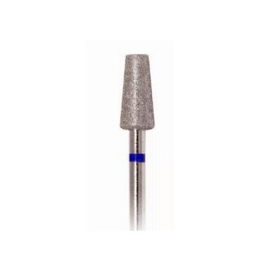 Deimantinis frezos antgalis Konuso formos 168-023, vidutinio grit., mėlynas, 2,3mm