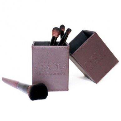Dėklas makiažo teptukams Osom Professional Brush Case, magnetinis