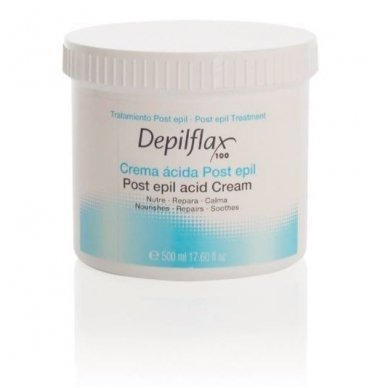 Depilflax kremas po depiliacijos, 500 ml
