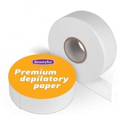 Popieriaus depiliacijai ritinys Premium su perforacija kas 20 cm, rulone 7 cm x 100 m