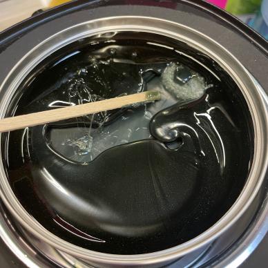 Depiliacinis vaškas skardinėje, blizgios - tamsiai žalios spalvos, 400ml 2