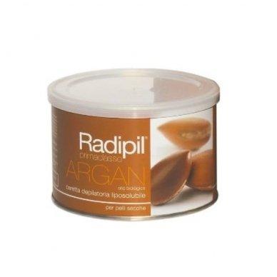 Depiliacinis vaškas skardinėje Radipil su argano aliejumi, sausai odai 400 ml