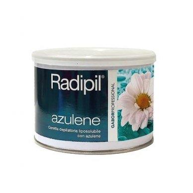 Depiliacinis vaškas skardinėje Radipil su azulenu, 400 ml
