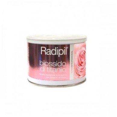 Depiliacinis vaškas skardinėje Radipil su titano dioksidu, 400 ml
