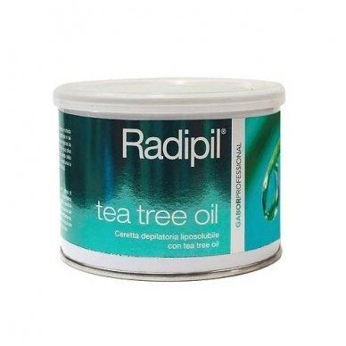 Depiliacinis vaškas skardinėje Radipil su Arbatmedžio ekstraktu, 400 ml