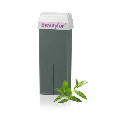Depiliacinis vaškas su arbatmedžio aliejumi Beautyfor, 100 ml