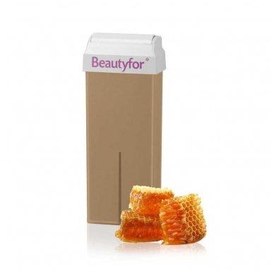 Depiliacinis vaškas su medumi Beautyfor, 100 ml