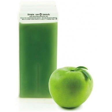 Depiliacinis vaškas su žaliųjų obuolių aromatu