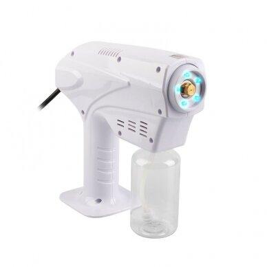 Dezinfekcinis NANO miglos prietaisas paviršiams dezinfekuoti