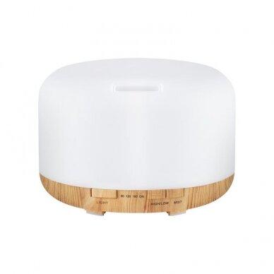 Difuzorius aromaterapijai ir drėkinimui SPA 03, 500ml, šviesios medienos