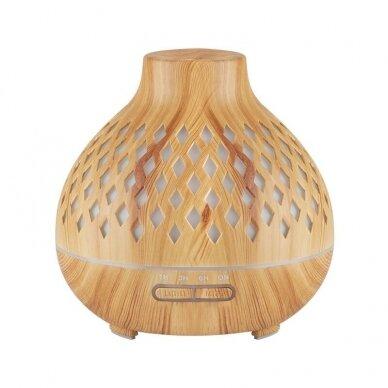Difuzorius aromaterapijai ir drėkinimui SPA 10, šviesaus medžio sp.
