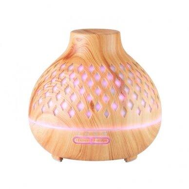 Difuzorius aromaterapijai ir drėkinimui SPA 10, šviesaus medžio sp. 2