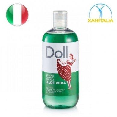 Doll losjonas prieš depiliacija su ALOE VERA, 500 ml