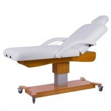 Elektrinė masažo lova Cone Weelko, 2 varikliai, baltos sp.