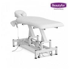 Elektrinis masažo stalas Beautyfor, baltos sp.